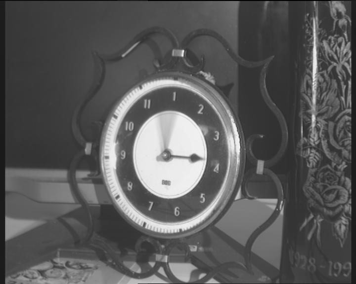horloge floue