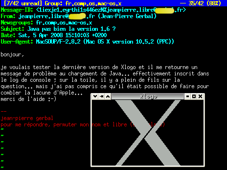 X11+MacOSX+Java
